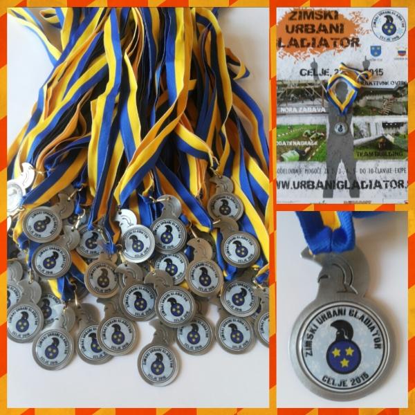 Zimski Urbani gladiator Medalje