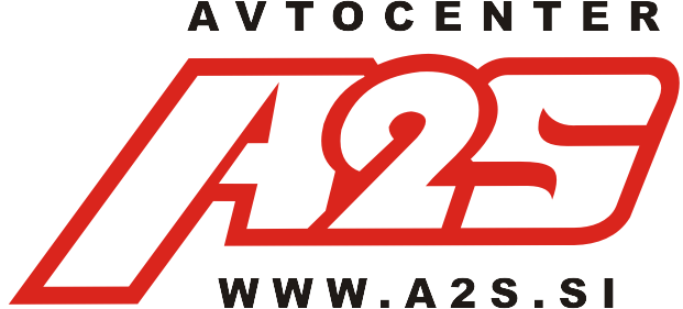 A2S logo za belo podlago